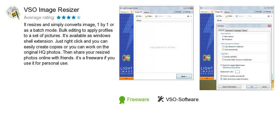 VSO Image Resizer
