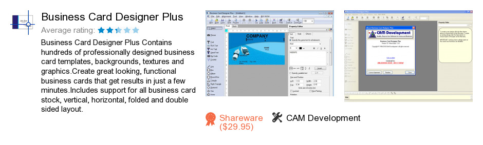 Business Card Designer Plus