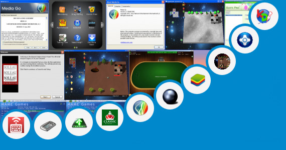 Software collection for Wintouch Tablet Games