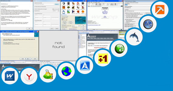 Dolphin Browser Window 7 - Make Your Own Browser and 89 more