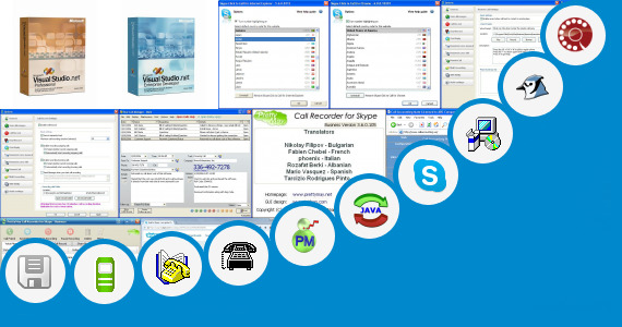 Software collection for Free Call Application On Java Phone