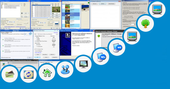 Software collection for Folder Background Changer Software