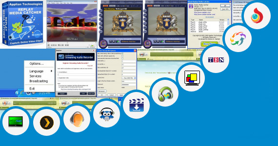 Software collection for Online Media Cyber Stream