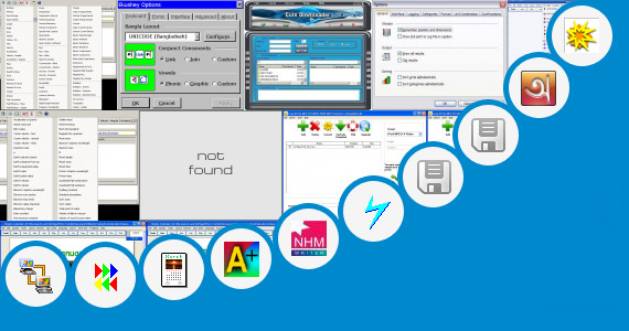 Software collection for I Leap Bengali Typing Software
