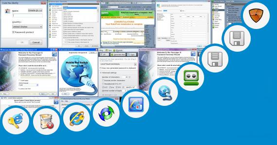 Software collection for Internet Explorer Tablet