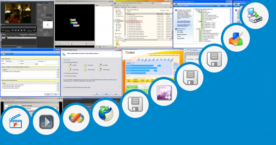 Software collection for Microsoft Extender Player