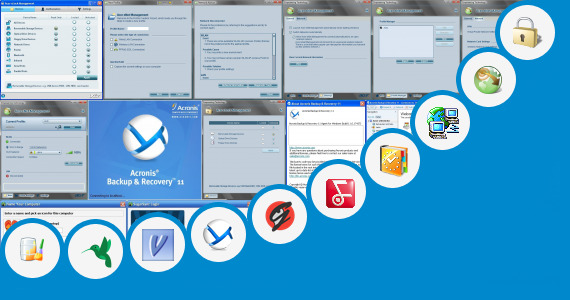 Software collection for Acer Backup Manager For