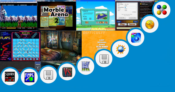 Software collection for Marble Saga Game For Pc