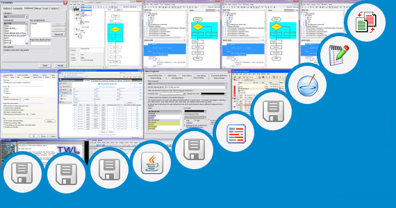 Software collection for Advanced Java Project Source Code