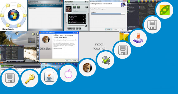 Software collection for Key Windows 8 Transformation Pack 3