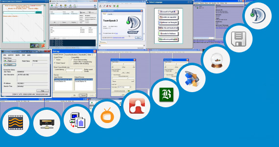 Software collection for Globe Broadband Installer