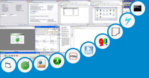 Software collection for Telugu Script Writing Software