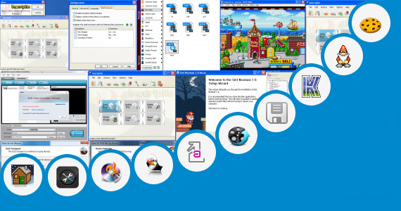 Software collection for Cookies Game Burner V4