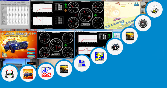 Software collection for Car Engine Tuning Software