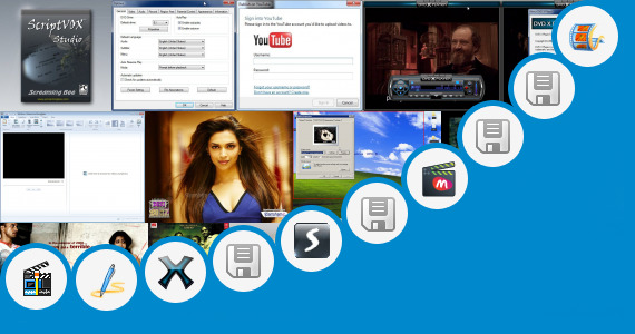 Software collection for Vaio Movie Story