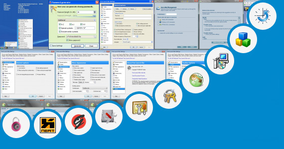 Software collection for Launch Manager Toshiba