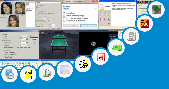 Software collection for V3 Lite English Version