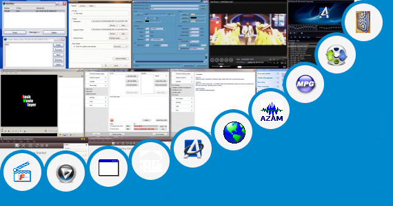 Software collection for Language Translator Video Player