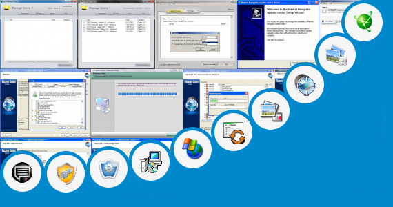 Software collection for Update Center Sony