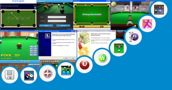 Software collection for Pool 9 Ball Ruler