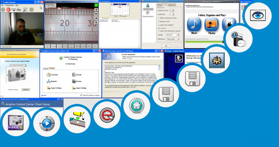 Software collection for Ip Camera Control Center Software