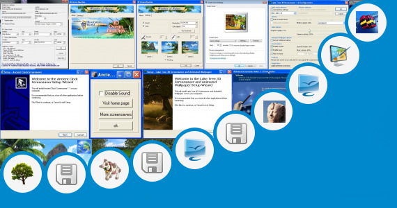 Software collection for Water Screensaver For