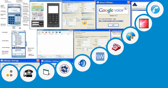 Software collection for Spin Voice Dialer