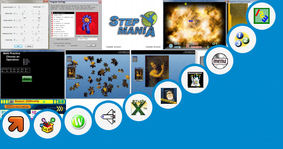 Software collection for Chen Program Study Games