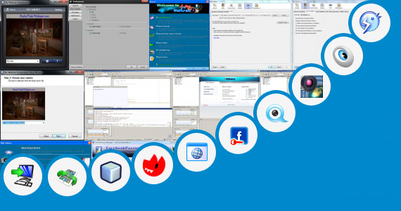 Software collection for Facebook Java Apps Camera Support