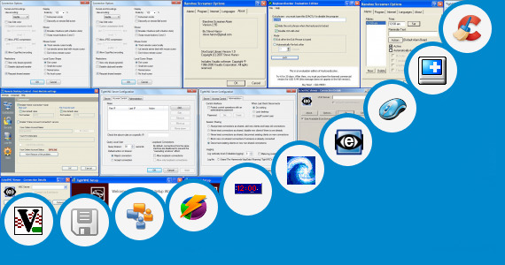 Software collection for Andro Mouse Desktop Server