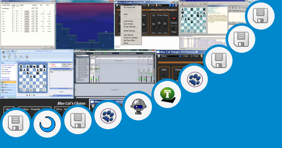 Software collection for Deep Blue Chess Software