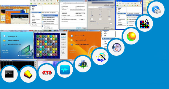 Software collection for 2 Magic Kinder Go Move