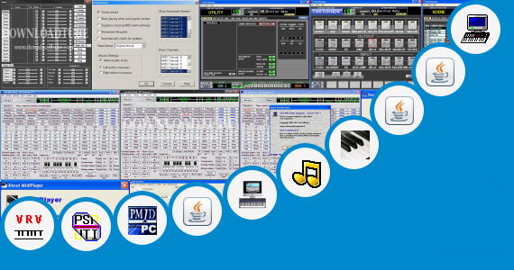 Software collection for Yamaha New Keyboards For 2013