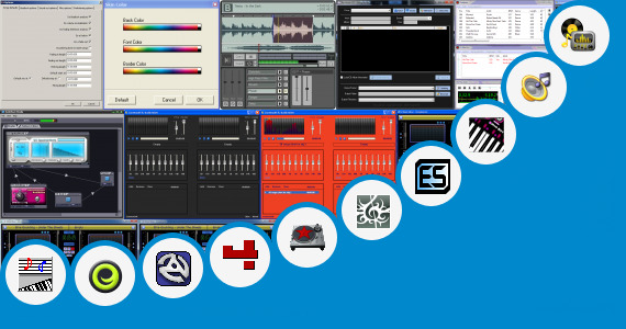 Software collection for Virtual Beat Box Dj Mixer
