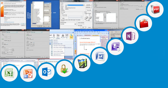 Software collection for Microsoft Wordpad 2007
