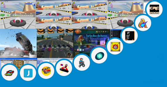 Software collection for Alicia Online Racing Game