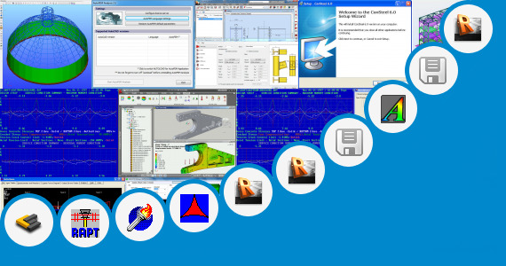 Software collection for Grasp Structural Analysis Software