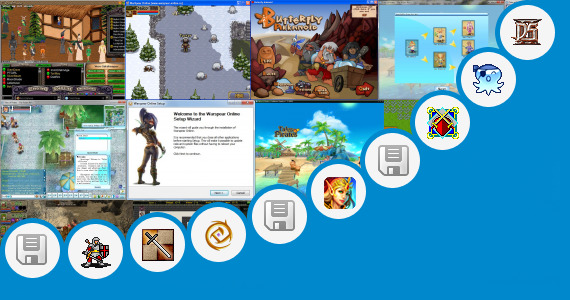 Software collection for Dungeon Land Game Free