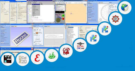 Software collection for Cnc Programming Software