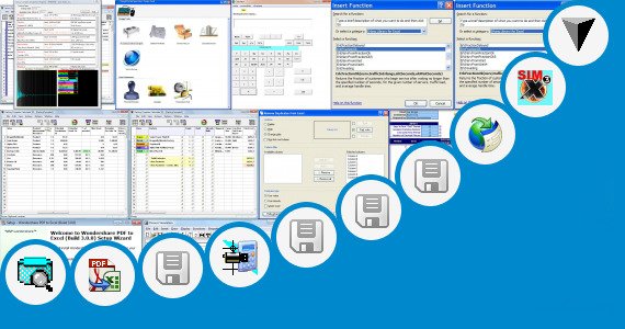 Software collection for Condenser Design Calculation Excel