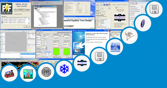 Software collection for Free Piping Design Software