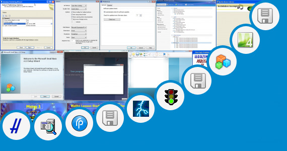 Software collection for Microsoft Publisher Starter