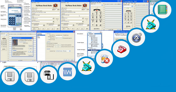 Software collection for Zone Phone Dialer