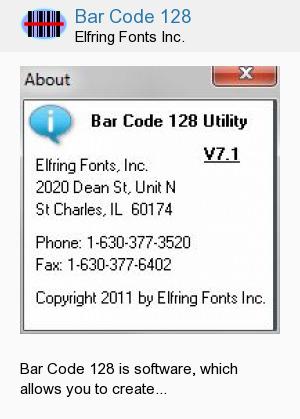 Bar Code 128