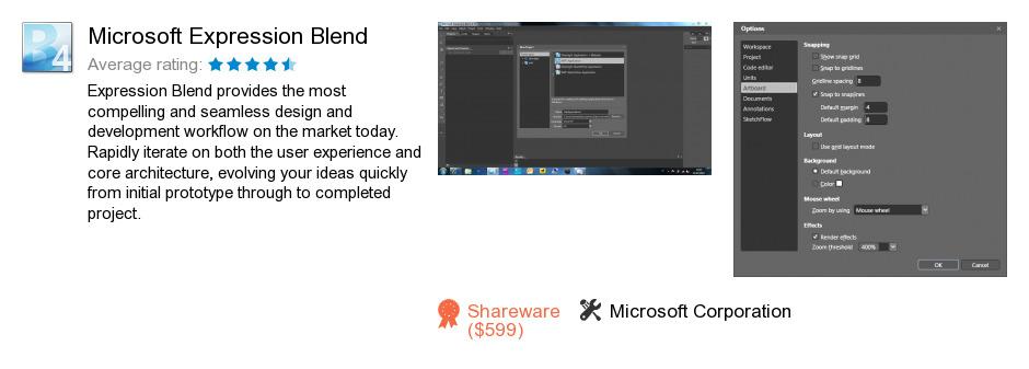 Microsoft Expression Blend