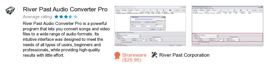 River Past Audio Converter Pro