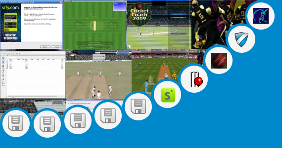 Software collection for Ea Sports Cricket Roster