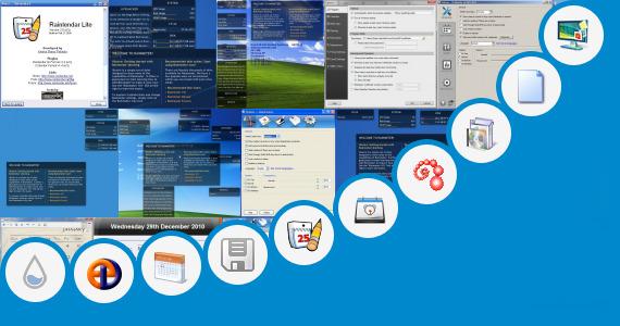 Calendar Planner Gadget For Windows : Windows calendar gadget standalone gadgets pack and more