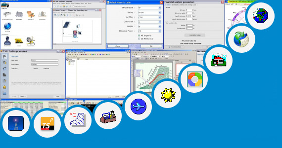 Software collection for Air Ejector Design Calculation