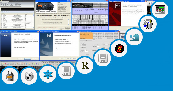Software collection for Pc Radio Ibox Av Control Program